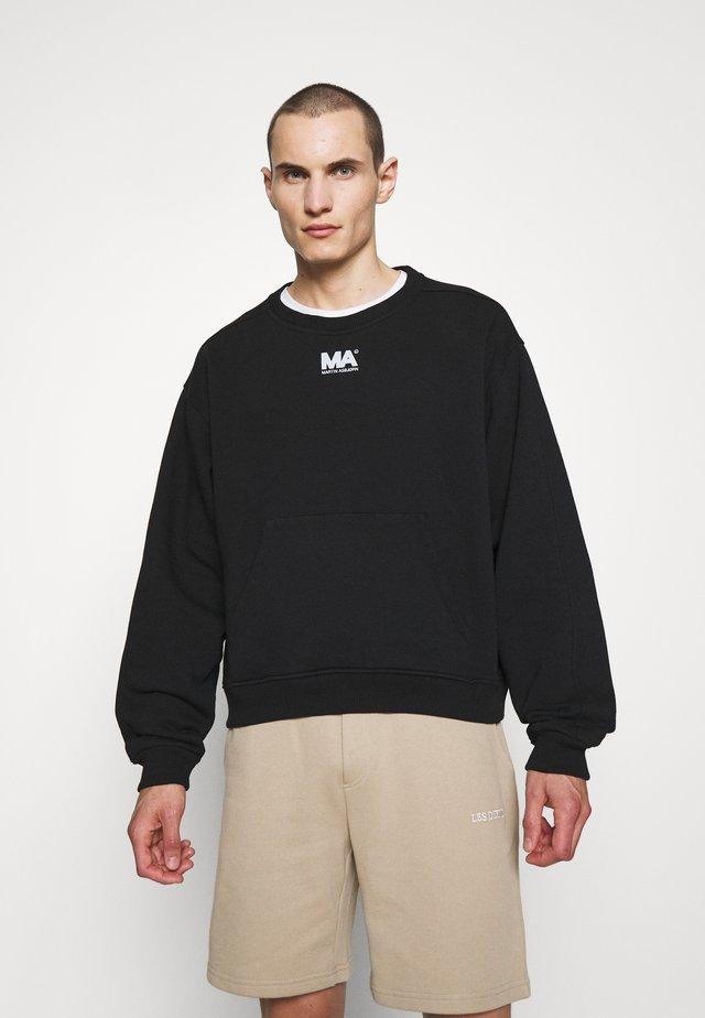 CROPPED CREWNECK - Sweatshirt - black