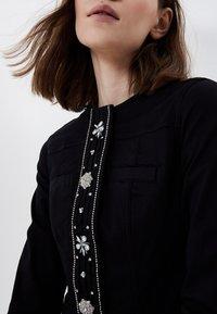 LIU JO - Summer jacket - black with appliqués - 2