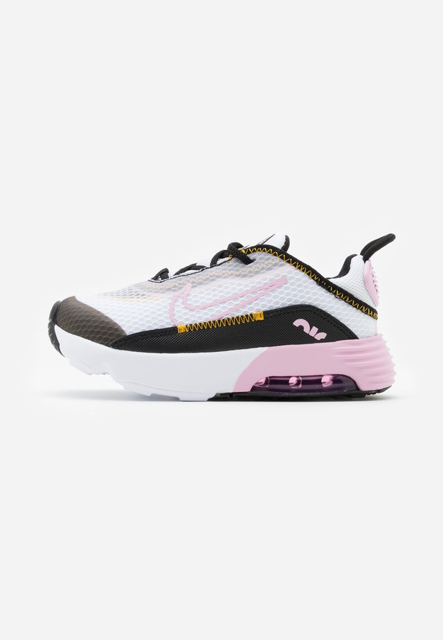 AIR MAX 2090  - Joggesko - white/light arctic pink/black/dark sulfur