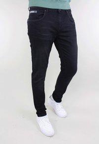 Gabbiano - Slim fit jeans - black denim - 0