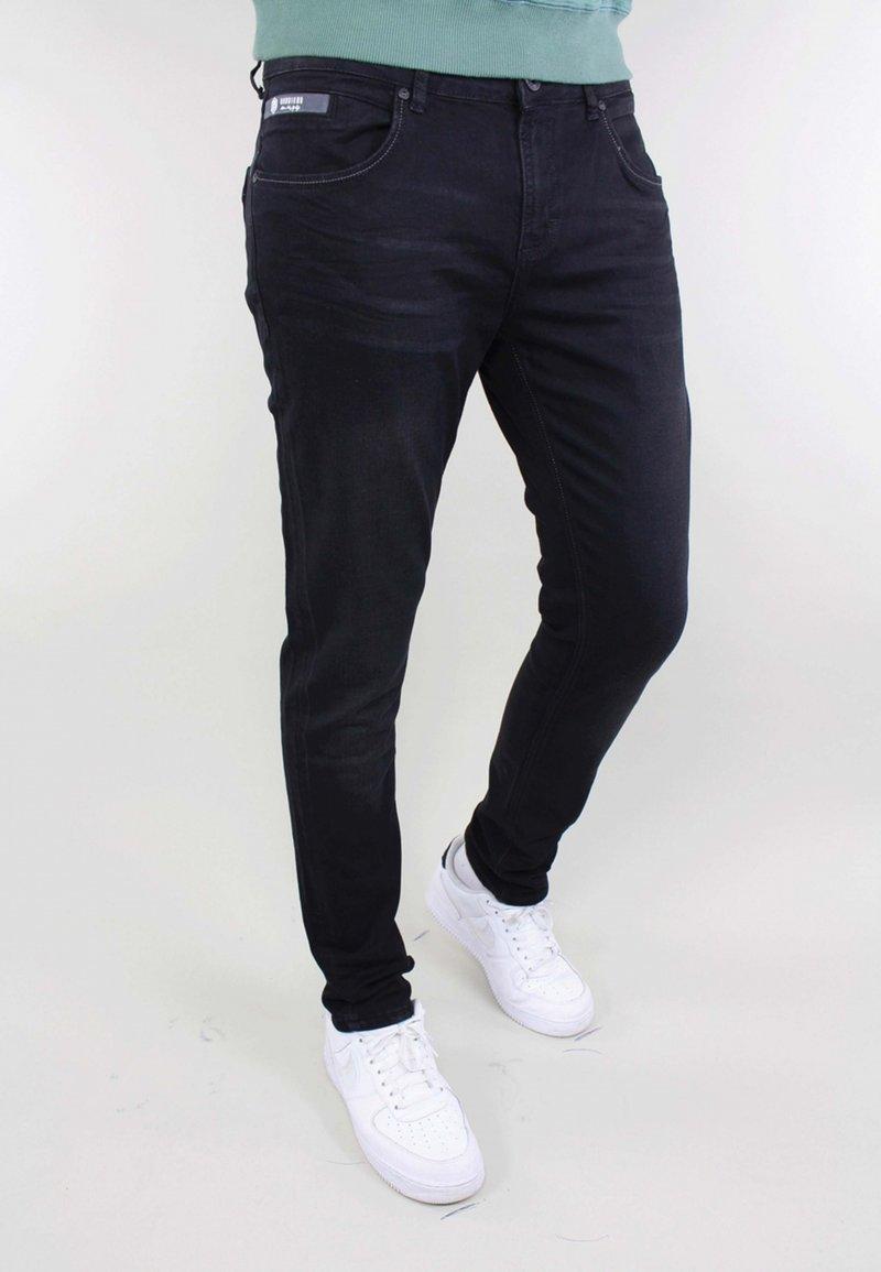 Gabbiano - Slim fit jeans - black denim