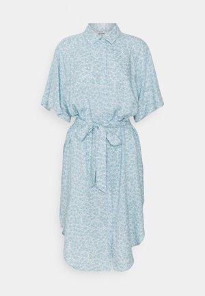 MIMMI DRESS - Shirt dress - blue dusty light