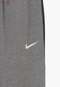 Nike Performance - KYLIAN MBAPPE HYBRID - Tracksuit bottoms - carbon heather/black/white - 3