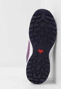 Salomon - SENSE CSWP - Hiking shoes - crown blue/evening blue/sparkling grape - 5