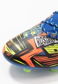 adidas Performance - NEMEZIZ MESSI 19.1 FG - Voetbalschoenen met kunststof noppen - team royal blue/silver metallic/solar yellow - 5
