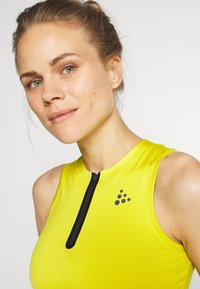 Craft - UNTMD SINGLET  - Top - yellow - 4