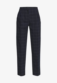 Monki - TARJA TROUSERS - Bukse - blue dark - 4