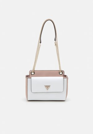SANDRINE CONVERTIBLE CROSSBODY - Skulderveske - white/multi