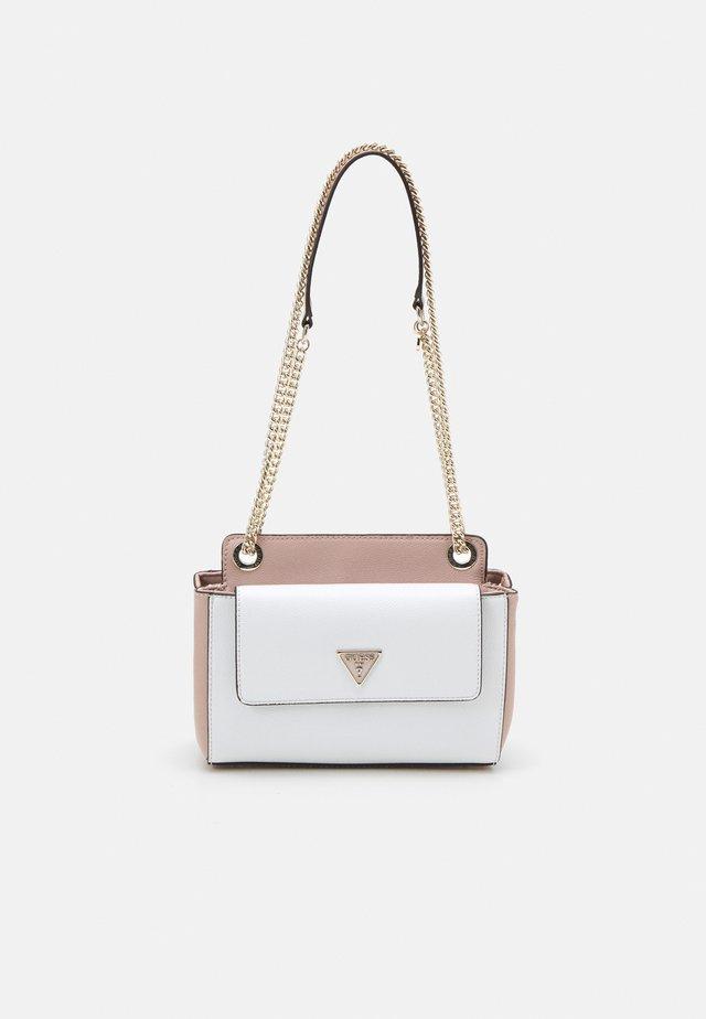 SANDRINE CONVERTIBLE CROSSBODY - Across body bag - white/multi