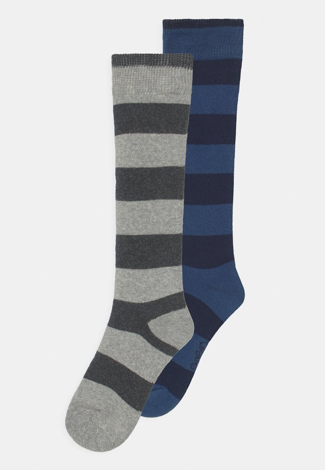 THERMO RINGEL 2 PACK UNISEX - Calzettoni - navy/grey