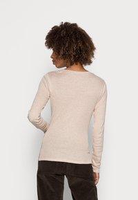 Opus - SORANA  - Long sleeved top - cashmere cream melange - 2