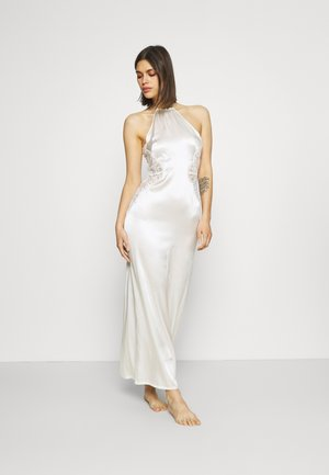 EXOTIQUE LONG NIGHTGOWN - Negligé - off-white
