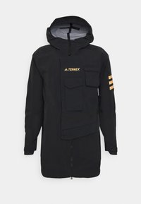 adidas Performance - TERREX XPLORIC RAIN - Outdoorjas - black/black - 6