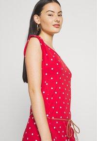 Ragwear - TAG DOTS - Jersey dress - red - 3