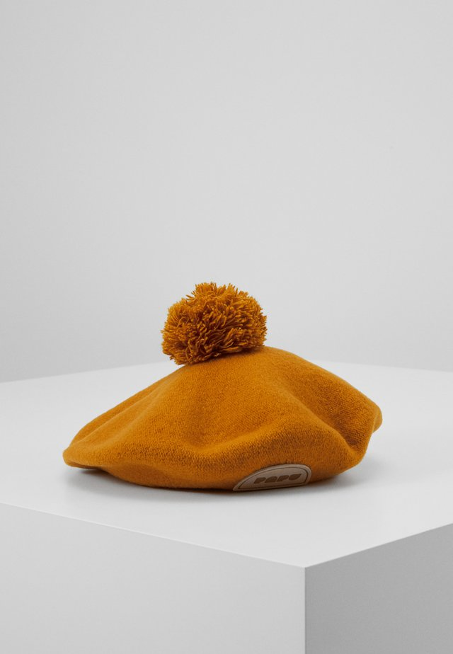 POM POM BERET - Pipo - earth brown