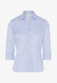 Eterna - MODERN CLASSIC - Button-down blouse - light blue/white - 3