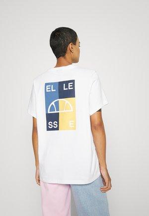 ABRITA - T-shirt print - white