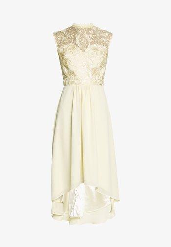 JAENIE DRESS - Společenské šaty - yellow