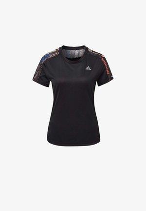 OWN THE RUN  - T-shirt z nadrukiem - black