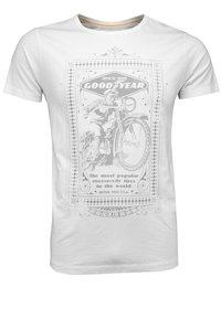 Goodyear - Print T-shirt - weiß - 0
