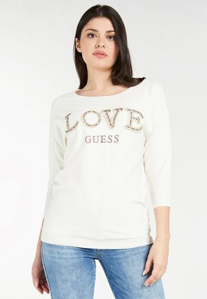 Sweatshirt - blanc multi