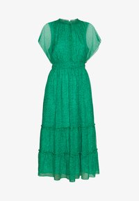 Whistles - SKETCHED FLORAL FRILL SLEEVE DRESS - Kjole - green/multi - 4