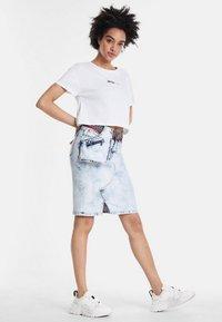 Desigual - RAQUEL - Wrap skirt - blue - 1
