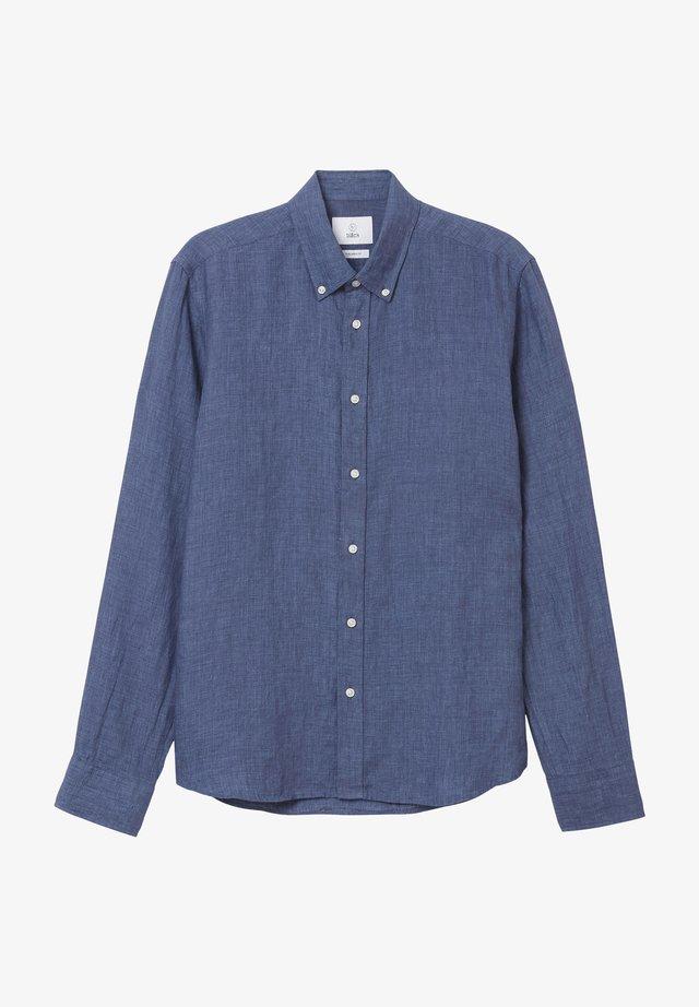 Overhemd - blue melange