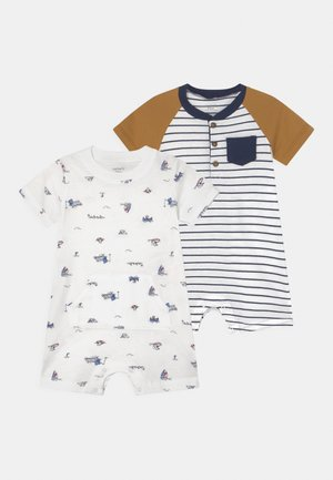 BOAT 2 PACK - Jumpsuit - white/multi-coloured