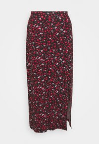 Pouzdrová sukně - black/multi-coloured