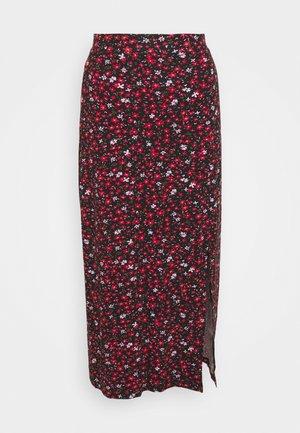 Pencil skirt - black/multi-coloured