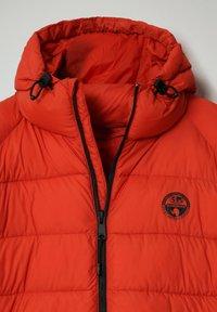 Napapijri - CIRCULAR PUFFER - Winter jacket - orange clay - 2
