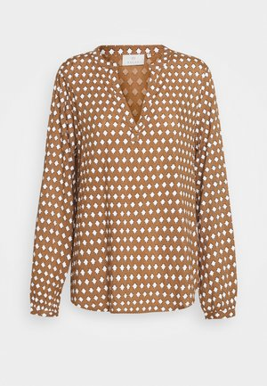 KALEAH TILLY BLOUSE - Blouse - woodsmoke
