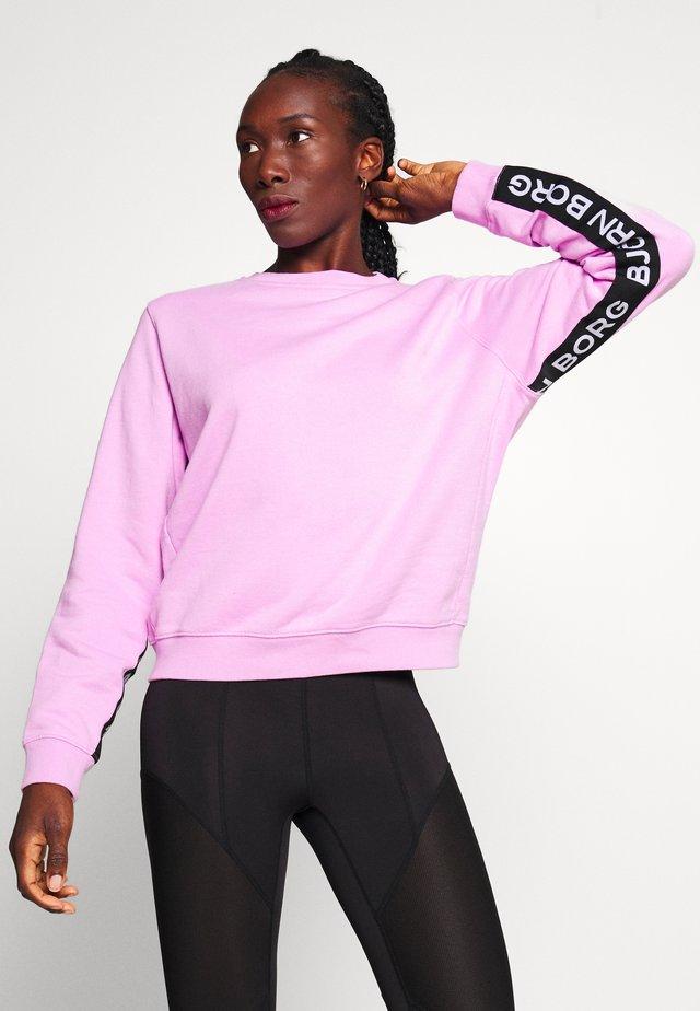 HELENA CREW - Sweatshirt - violet tulle