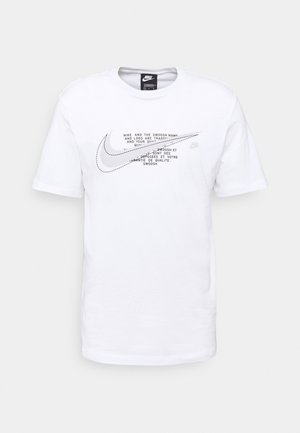 COURT TEE - Camiseta estampada - white