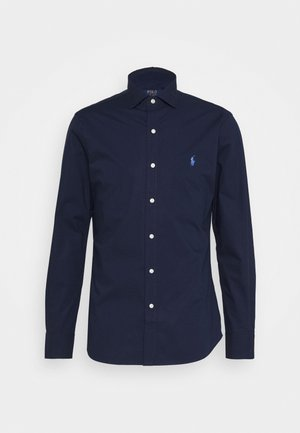 NATURAL - Shirt - newport navy