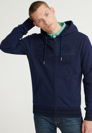 Zip-up hoodie - rich navy