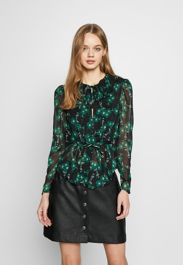 ARCH DAISY FLORAL BED JACKET - Blouse - green