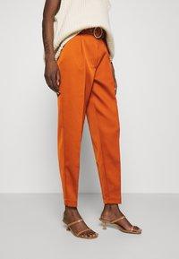 Cras - SALINACRAS PANTS - Kalhoty - rust - 0