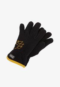Jack Wolfskin - BAKSMALLA GLOVE KIDS - Gloves - black - 0