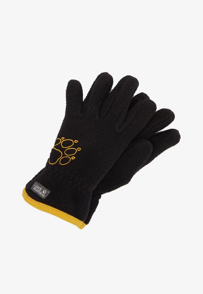 Jack Wolfskin - BAKSMALLA GLOVE KIDS - Gloves - black