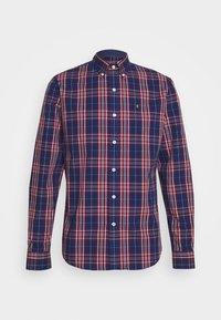 POPLIN PLAID - Shirt - estate blue