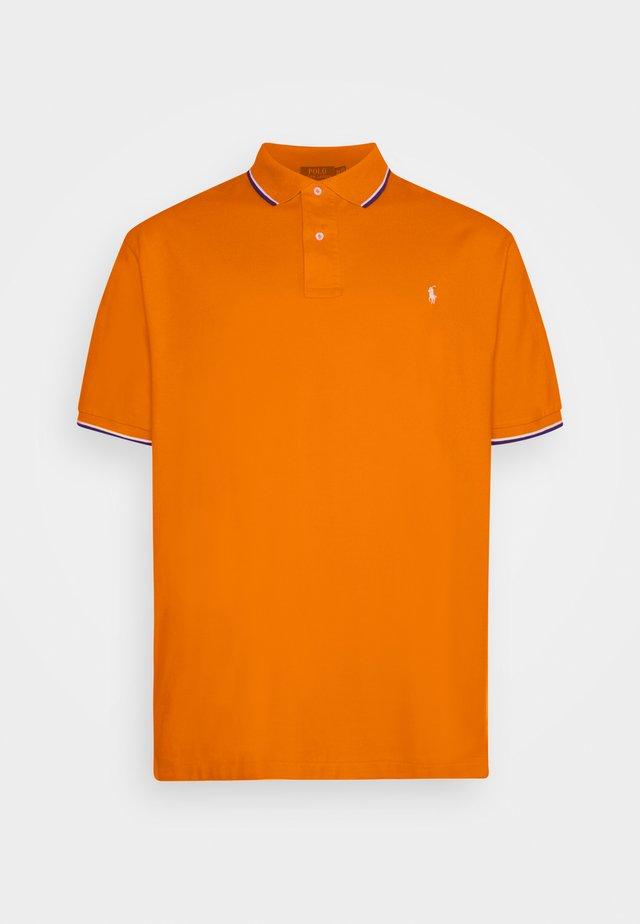 SHORT SLEEVE - Polo shirt - sailing orange