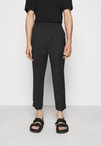 3.1 Phillip Lim - SINGLE PLEAT - Kalhoty - black - 0