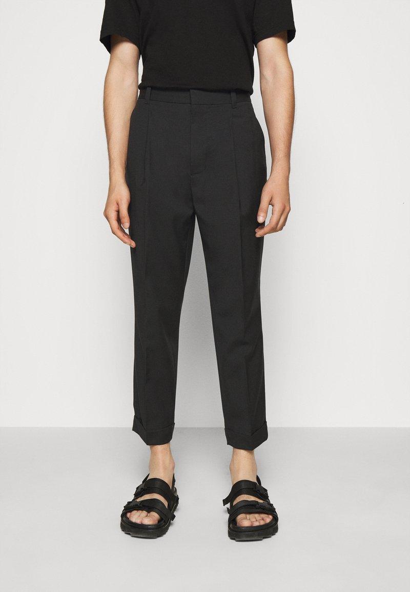 3.1 Phillip Lim - SINGLE PLEAT - Kalhoty - black