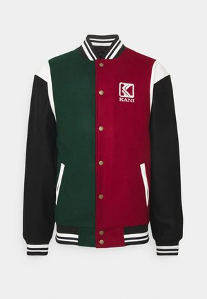 BLEND COLLEGE JACKET - Giubbotto Bomber - darkred