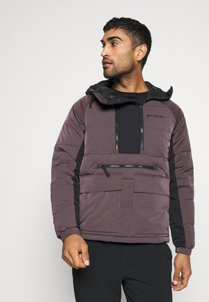 KINGS CREST JACKET - Wiatrówka - dark purple/black