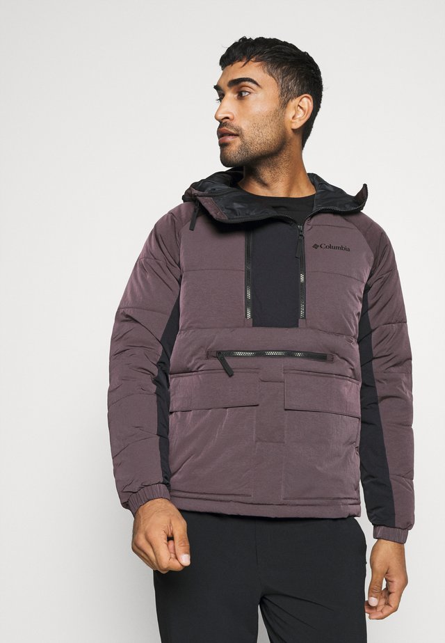 KINGS CREST JACKET - Veste coupe-vent - dark purple/black