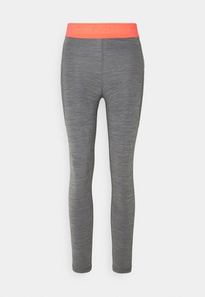 7/8 FEMME - Leggings - smoke grey heather/bright mango/white