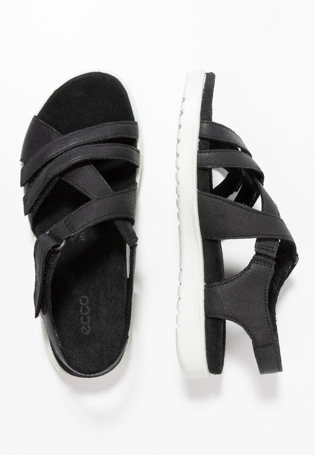 FLORA - Sandals - black